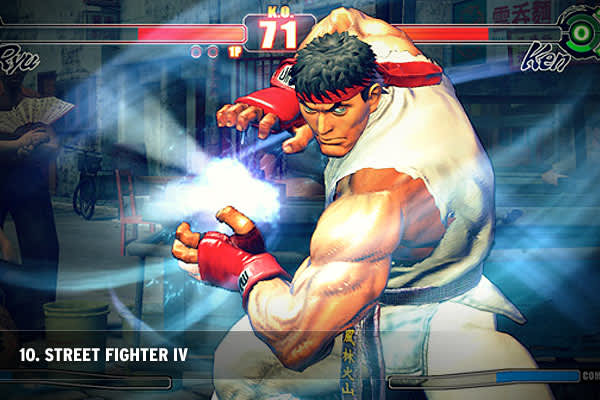 "Publisher: CapcomReleased February 2009""Street Fighter"" was one of the arcade standards when it came to fighting games – and this new installment doesn't forget its roots. With unlockable characters, devastating blows and a sense of renewal for the series, the game appeals to long time fans, which returned in droves."