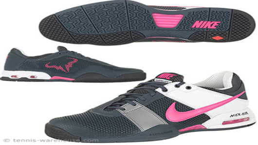 Nike Air CourtBallistec 1.3 Men Shoe Gry/Pink