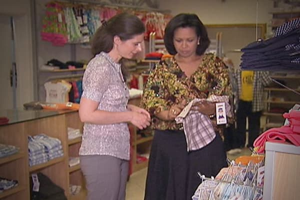 """In Nigeria, Adenike Ogunlesi believes basic financial knowledge can make a bigger difference than aid can for the hundreds of millions of Africans who live on less than a dollar a day. Ogunlesi founded children's clothing company Ruff 'n' Tumble more than a decade ago. Today, it has revenues of over a million dollars a year.Ogunlesi believes in teaching people how to be entrepreneurs and recites a familiar saying: """"Teach a man to fish and he can feed his whole family but give him a fish and you"""