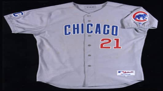 Sammy Sosa Cubs Jersey Front