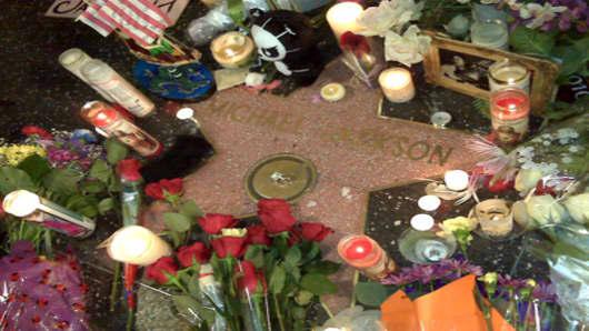 Michael Jackson Vigil