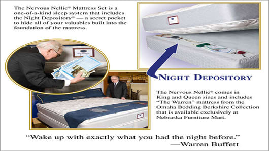 After Warren Buffett Promoted To Mattress Salesman Nervous Nellie