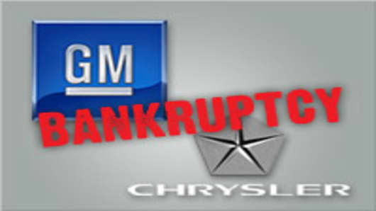 GM and Chrysler bankruptcy