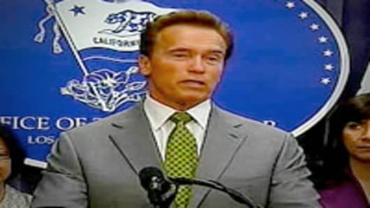 California Gov. Arnold Schwartzenegger