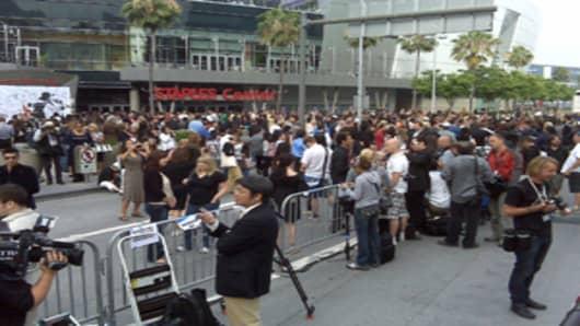 Michael Jackson funeral at Staples Center