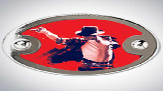 Michael Jackson Belt Buckle