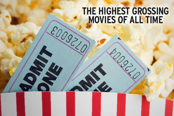 These days, it's become commonplace for blockbuster movies to draw revenues in excess of $100 or $200 million, sometimes even within the first weekend. As far as box office revenues go, the 10 highest grossing movies of all-time have been released within the past 15 years. But with the ever-depreciating dollar, $100 million today means substantially less than it did even 20 years ago. This begs the question: how would the rankings look if revenues were adjusted for inflation? Recently, , a subsi