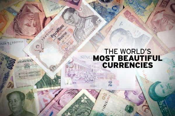 "Have you ever been in another country and thought,"" These folks really have some beautiful money?"" Whether it was the colors, the portraits, or the overall design, good looking money is just a little more fun to spend. So, what are the most beautiful currencies in the world? David Standish, author of , shares his comments and top picks. And even though he says the European Single Currency has driven many of the beautiful currency notes into extinction, he says there are still some spectacular no"