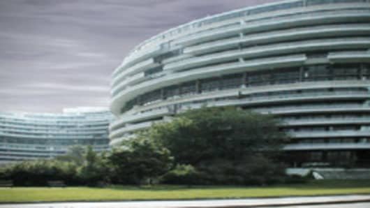 Watergate Hotel/Office/Apartment complex in Washington DC.