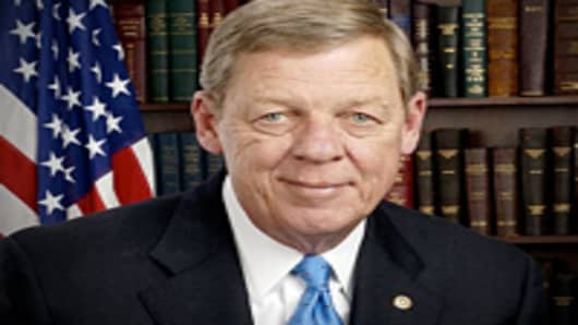 Senator Johnny Isakson of Georgia