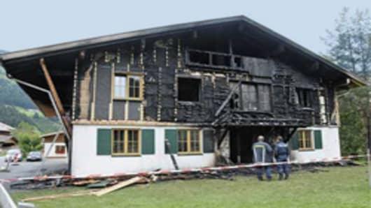 Daniel Vasella's Hunting House.