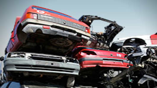 Auto scrap yard