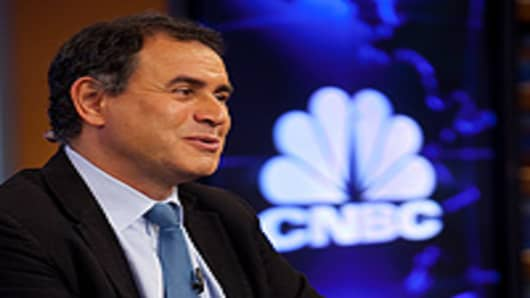Nouriel Roubini guest hosts Squawk Box on CNBC.