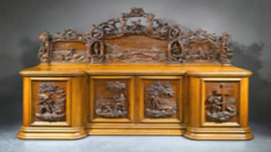 sideboard by Garrard Robinson circa 1862