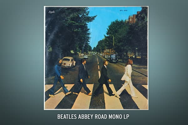 This is a copy of the Beatles 1969 mono-version of the record album. It sold at auction for $1,434 during the summer of 2009.
