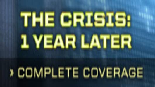 The Crisis: 1 Year Later - A CNBC Special Report - See Complete Coverage