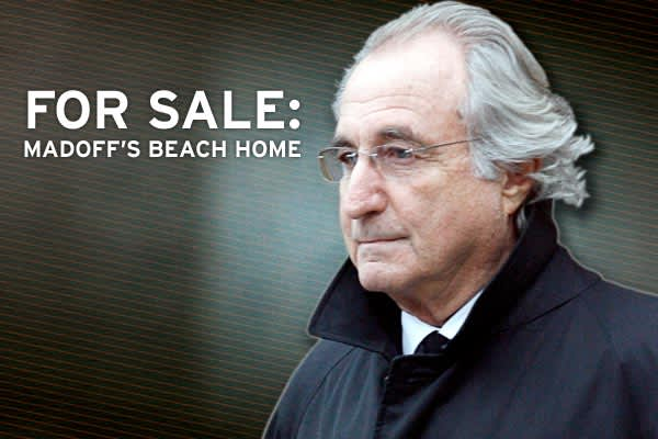 The perpetrator of the largest Ponzi scheme in history, Bernard Madoff, has seen a number of his possessions seized by federal officials - his yachts, Manhattan penthouse, Florida mansion... even his NY Mets season tickets - in order to help recoup losses experienced in the wake of his monumental fraud.One of Madoff's more valuable assets, his luxury beach home in Montauk, NY, is  about to be put up for sale by the US Marshals. Just announced today, CNBC decided to take a look into what the Ponz