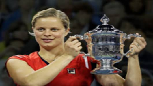 Kim Clijsters, of Belgium