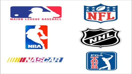 six sports logos