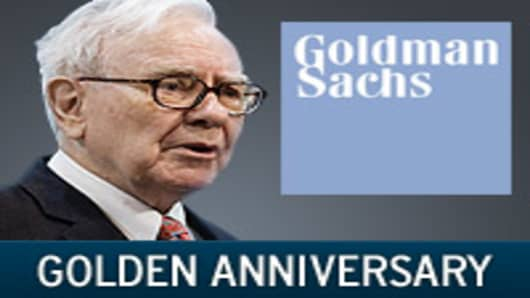 Warren Buffett and Goldman Sachs: Golden Anniversary