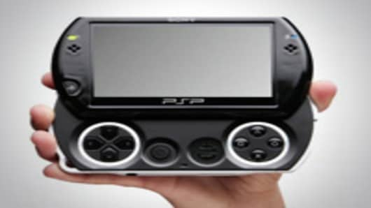 Image of the PSP Go by Sony