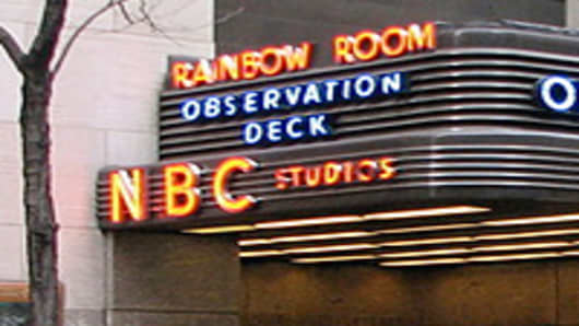 NBC Rainbow Room 30 rokefeller Plaza