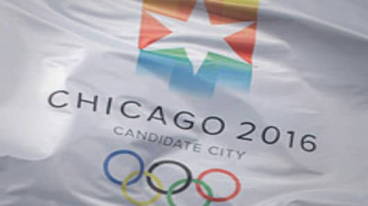 Chicago Olympic Candidate Flag