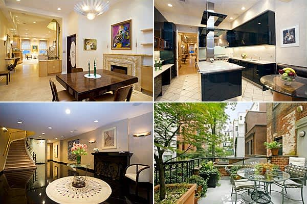 $9.995 million $1.505 million6,000 sq ftLocated on Manhattan's Upper East side, this five-story home (built circa 1880) has an entryway featuring a marble gallery, fireplace and grand staircase. The main floor includes a gym and sauna while the living room and dining room feature fireplaces. There also is an outdoor terrace facing south.