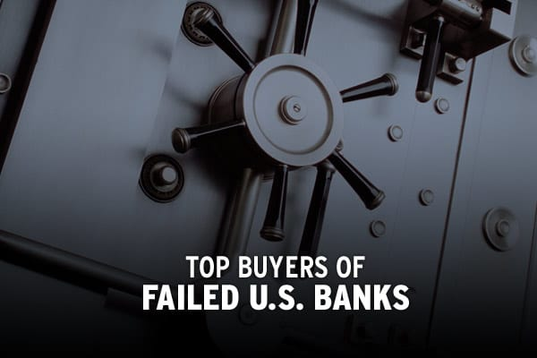 "When a U.S. bank fails, it is up to the FDIC to ensure the stability of the failed bank's assets and deposits so that customers won't lose out when their bank of choice goes under.To do this, the FDIC can either arrange for the sale of the failed bank's assets to an existing financial institution or directly pay out the failed bank's deposits, as long as they fall within the FDIC's insurance limits. The former ""Purchase and Assumption Method"" is most commonly used, but requires the FDIC to find"