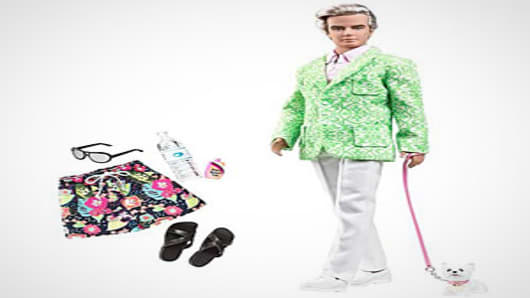Barbie Palm Beach Sugar Daddy Ken Doll