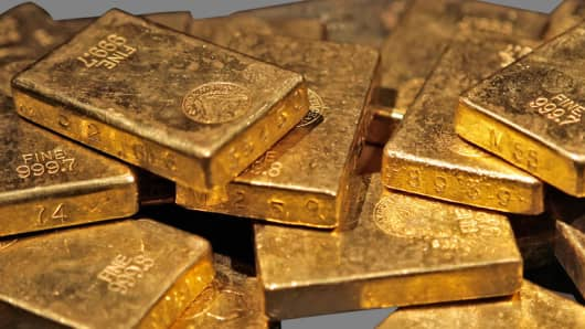 Dow Jones record burdens gold price