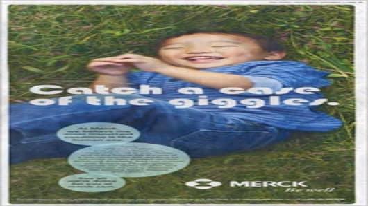 Merck advertisement