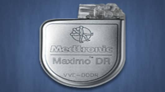 Medtronic Maximo DR implantable cardioverter-defibrillator
