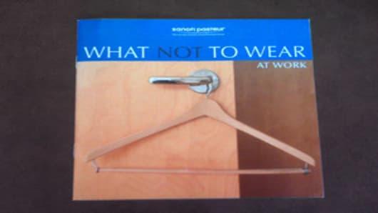 What Not To Wear At Sanofi Pasteur