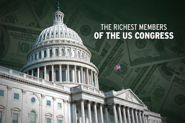 Recently, the  (CRP) analyzed the financial assets of US lawmakers based on required annual disclosures, and found that there are 237 millionaires in the US Congress.The CRP determines estimated net worth based on some 40 asset and liability categories. Each has a value range, such as $5 million to $25 million. Assets, for instance, include non-government income, asset transactions, spouse's income, gifts and more. Listing of Non-income generating property (including a primary residence) is not