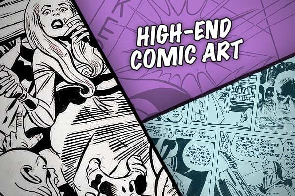 The high-end market for original comic art has exploded in the recent years, according to , which is the largest dealer in that market. Since the company began dealing in comic auctions in 2001, the total sale of high-end original comic art—which includes everything from original newsprint strips to original oil paintings, superheros and Peanuts—has roughly doubled, to $9.1 million in 2008.This weekend, the Dallas-based auction house is sponsoring an auction of work by Joe Kubert, artist perhaps
