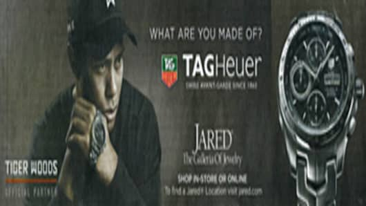 "TAG Heuer ""What are you made of?"" ad featuring Tiger Woods"