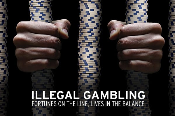 Across the United States, billions are being made outside the law. Illegal gambling may conjure images of mobsters, bookies and threats of violence — and while that underground world still exists — technology has made illegal gambling much more accessible and somewhat less shady. The same computer you use for work or to connect with friends can be used to wager outside the law. It's a thriving illegal business hiding in plain sight.