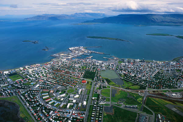 CPD: 24.66%Foreign Long Term: BBB-Foreign Short Term: A-3Credit Watch/Outlook: NegativePictured: A general aerial view taken in August 2005 of Reykjavík, the capital of Iceland.
