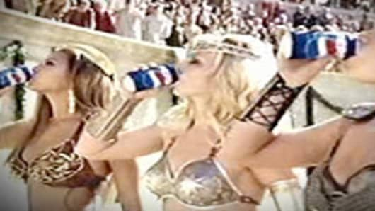 Pepsi Superbowl commercial