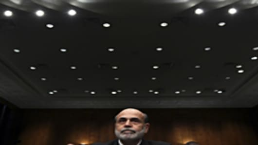 Federal Reserve Chairman Ben Bernanke testifies before the Senate Banking, Housing and Urban Affairs Committee on his re-nomination to the position.