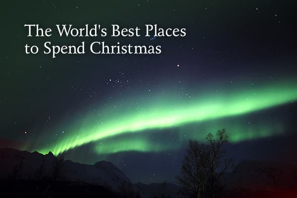"Each year,compiles their list of the best places to spend the holiday season.From traditional white Christmas destinations to  locales  that are more off the beaten path, Travel+Leisure  said it  lists places  that  break ""the habit of staying home"" and will ""reward you with a Christmas you'll never forget."" The list includes everything from places that are characterized by rich cultural history to tropical or Southern Hemisphere destinations that flip Christmas on its head with warm weather.So,"