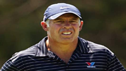 Steve Williams, caddie for Tiger Woods