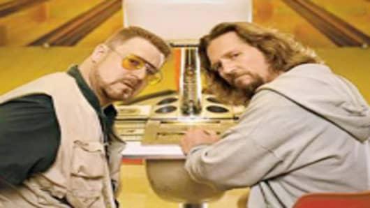 "Jeff Bridges and John Goodman star in ""The Big Lebowski"""