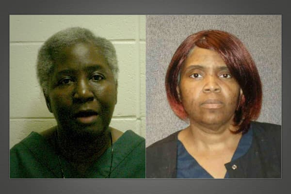 Dorothy Johnson (left) and her daughter Twila McKee of Milwaukee were arrested in August 2003 and charged with insurance fraud and attempted theft for claiming Johnson had died in the World Trade Center attacks on Sept. 11, 2001. The mother-daughter duo filed two life insurance claims with benefits totaling $135,000 with McKee named as the beneficiary on both policies.