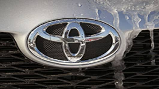 Toyota car grille
