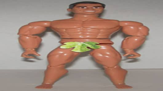 The Scott Brown action figure