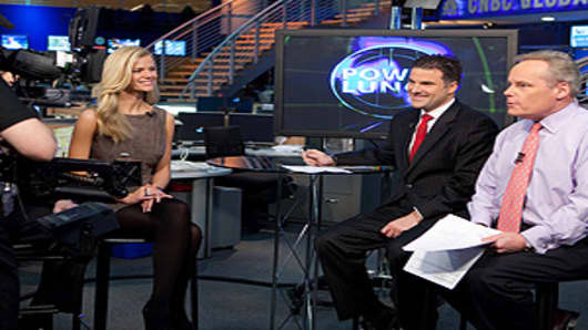 Brooklyn Decker, cover model for the Sports Illustrated 2010 Swimsuit issue on CNBC