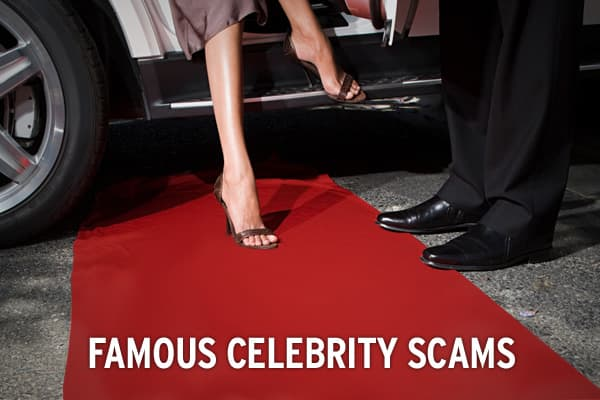 Celebrities may lead glamorous lives and have fabulous automobiles and homes, but their wealth and glamour doesn't insulate them from the scams and hoaxes that plague both savvy and not-so-savvy investors. In some cases, it can make them even more susceptible.Here we take a look at some of the celebrities over the years who have been fooled into parting with their money, or who have found their fame being used as the basis of a scam perpetrated on others.Click ahead to see some of the world's mo