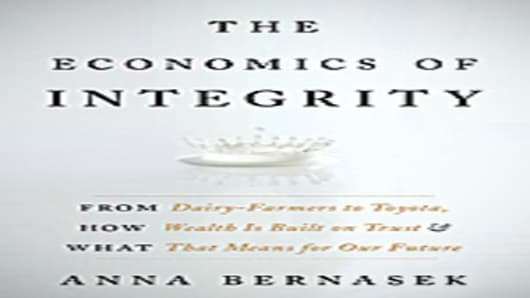 Econimics of Integrity by Anna Bernasek